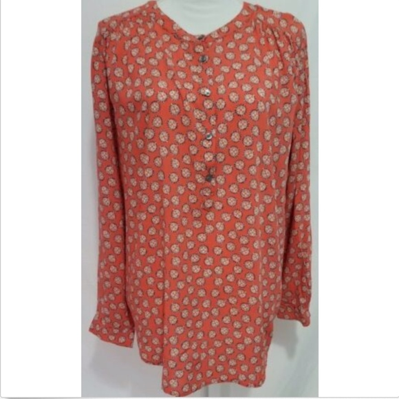 LOFT Tops - Ann Taylor Loft Women's Blouse Top Size Large